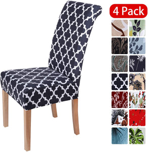 Stretch Dining Chair Covers Spandex Removable Washable Chair Protector Slipcovers