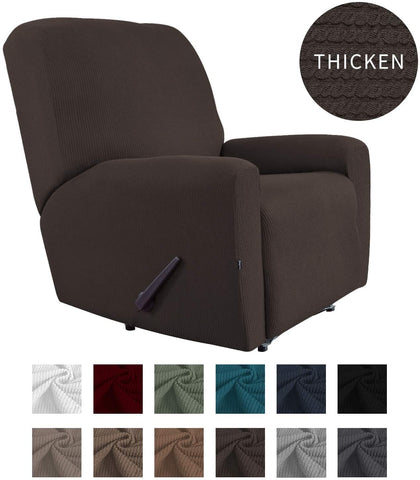 Image of Thickened Recliner Stretch Slipcover Sofa Cover Furniture Protector