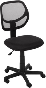 Low-Back Computer Task Office Desk Chair with Swivel Casters