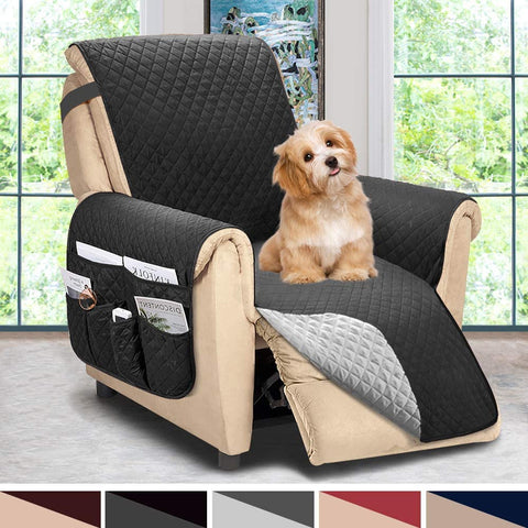 Image of Reversible Recliner Chair Cover Recliner Covers Slipcovers Sofa Cover