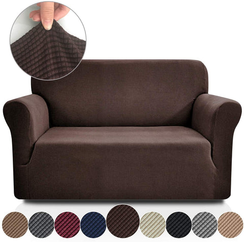 Image of Jacquard-Stretch Cover Slipcovers Sofa Protector