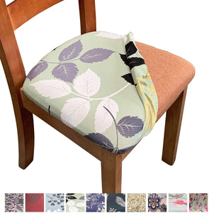 Stretch Chair Seat Covers Removable Washable Anti-Dust Cushion Slipcovers
