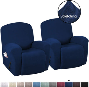 Stretch Recliner Slipcovers High Stretch Jacquard Sofa Furniture Cover