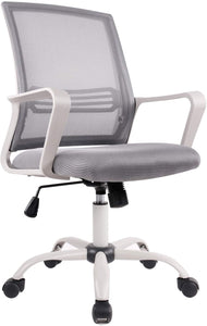 Office Chair Mid Back Mesh Office Computer Swivel Desk Task Chair