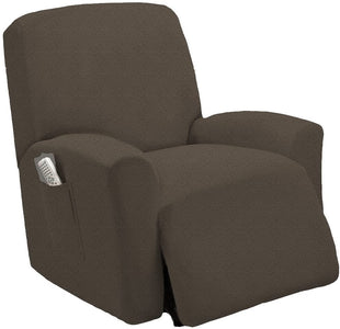 Stretch Recliner Sofa Chair Furniture Slipcovers with Remote Pocket