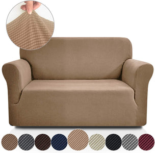 Jacquard-Stretch Cover Slipcovers Sofa Protector