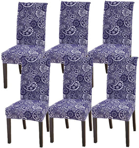 Soft Stretchable Dining Chair Covers Spandex Banquet Chair Protector Slipcovers