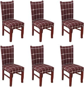 Removable Washable Dining Chair Covers Stretch Seat Slipcover Cushion Protector