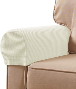 Arm Sofa Cover  Recliners Chairs Anti-Slip Armrest Slipcovers