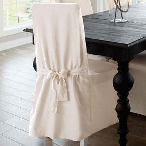 Dining Chair Cover 100% Cotton Chair Slipcover