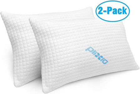 Memory Foam Bamboo Cooling Hypoallergenic Sleep Pillows For Back And Side Sleeper