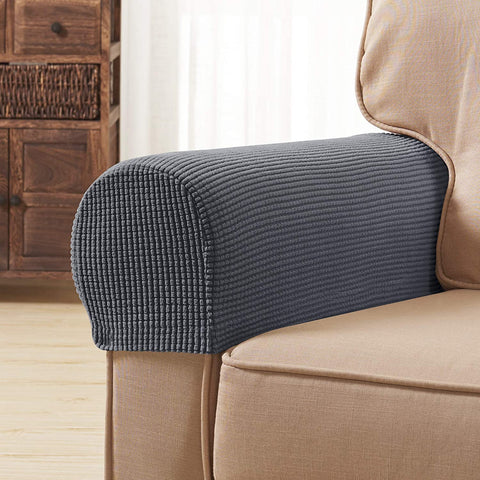 Image of Arm Sofa Cover  Recliners Chairs Anti-Slip Armrest Slipcovers