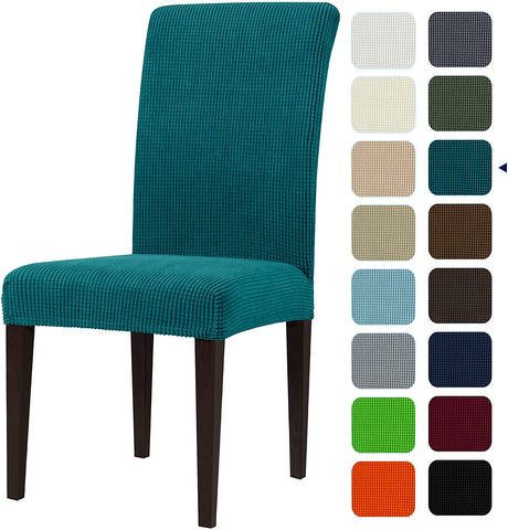 Image of Dining Room Chair Slipcovers Sets Stretch Furniture Protector Covers