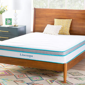 Memory Foam and Innerspring Hybrid Mattress