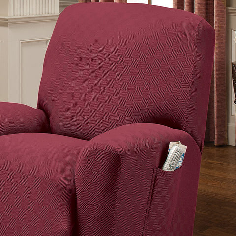 Image of Recliner Slipcover Standard Recliners Perfect Chair Protection Comfortable