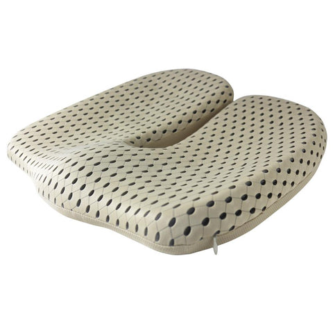 Image of Non-Slip Memory Foam Seat Cushion For Back Pain Coccyx Orthopedic Chair Wheelchair