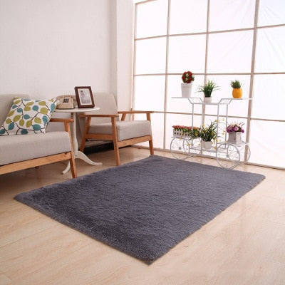 Image of Solid Colors Rugs Thicker Bathroom Non-slip Mat