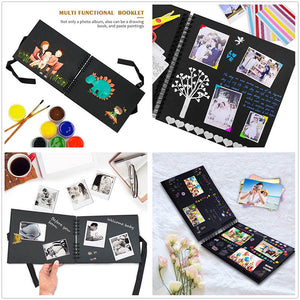 Photo Albums Memory Books A4 DIY Scrapbooking Picture Wedding Birthday Childrens Gift