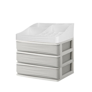 Plastic Cosmetic Drawer Makeup Organizer Makeup Storage Box Container
