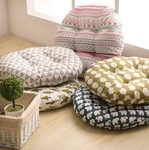 Seat Cushion Cotton Core Cotton Polyester Tatami Cushion Pillow Home Decoration