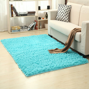 Solid Colors Rugs Thicker Bathroom Non-slip Mat