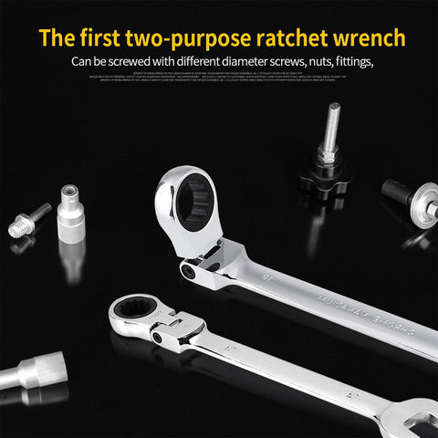 Image of Wrench Multitool Key Ratchet Spanners Set Universal Wrench Tool Car Repair Tools