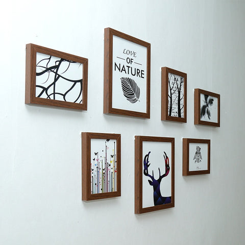 Image of Classic Photo Frame For Wall Hanging Picture Frame Photo Wall Art