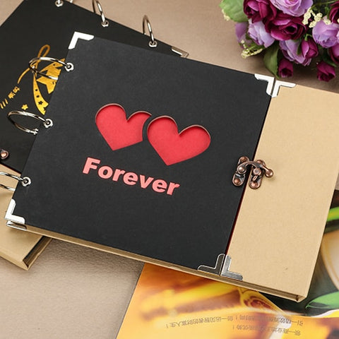 Image of DIY Photo Album Gift Baby Photo Album Scrapbook Paper Crafts Polaroid Albums Sticky
