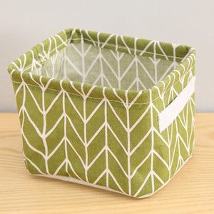 Desktop Storage Basket Cosmetic Book Organizer