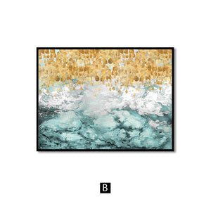 Landscape Wall Art Canvas Abstract Painting Wall Pictures