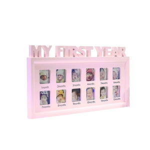 Creative DIY Pictures Display Plastic Photo Frame Commemorate Kids Growing Memory