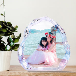 DIY Crystal  Photo Album Family Picture Stick Up Photo Frame Gifts