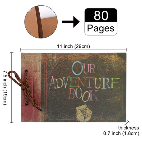 Image of DIY Photo Album Scrapbook Fotografico Traveling Wedding Kids Album Gifts