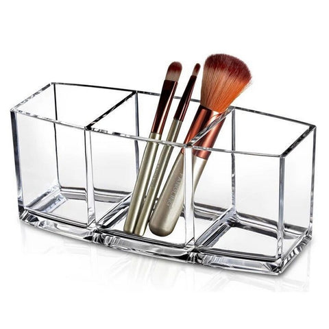 Image of Makeup Organizer Cosmetic Holder Makeup Tools Storage Box