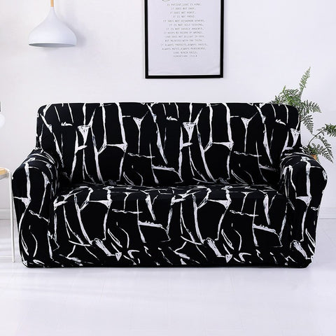 Image of Solid Sofa Cover Elastic Slipcovers for Armchairs Protector