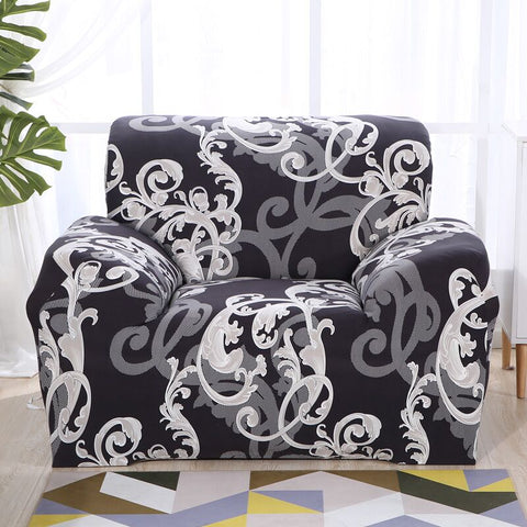 Image of Stretch Sofa Cover Elatic Slipcovers for Armchairs Couch Sofa Set