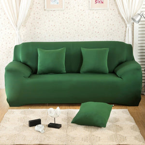 Solid Sofa Cover Elastic Slipcovers for Armchairs Protector