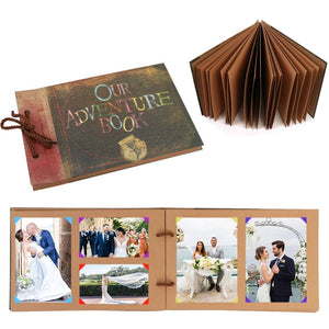 DIY Photo Album Scrapbook Fotografico Traveling Wedding Kids Album Gifts