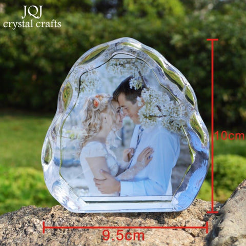 Image of DIY Crystal  Photo Album Family Picture Stick Up Photo Frame Gifts