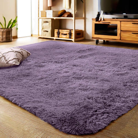 Soft Carpet Plush Floor Rugs Fluffy Mats Faux Fur Living Room Mat
