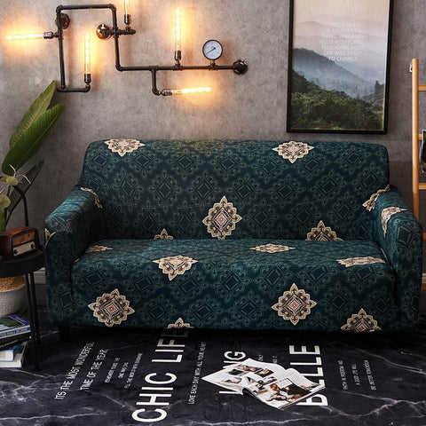 Image of Sofa Cover Elastic Slipcovers for Armchairs Sofa Set Couch Cover