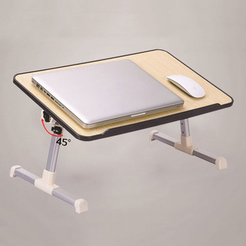 Laptop Table Bed Desk Folding Lifting Computer Desk Small Table