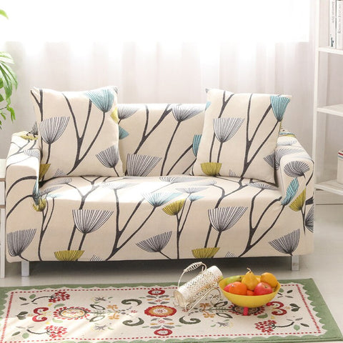Image of Elastic Slipcover Living Room Sofa Cover