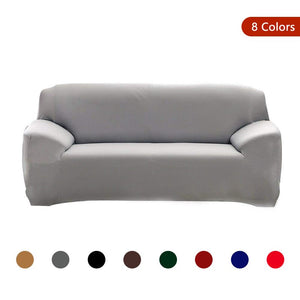 Modern Pure Color Fashion Sofa Covers Stretch Slipcovers