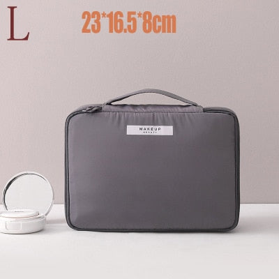Image of Cosmetic Bag Make up Bag Purse Toiletry Bag Organizer Makeup Pouch Waterproof Handbag