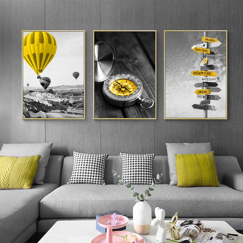 Image of Landscape Picture Scenery Wall Art Home Decor