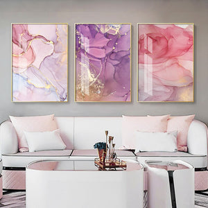 Modern Abstract Canvas Painting Wall Art