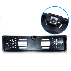 After Frame Rear View Camera Frame 4 LED Lights Night Vision Waterproof Car Camera