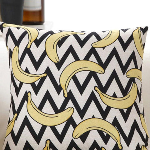 Image of Cushion Cover Pillow Colorful Throw Pillowcase