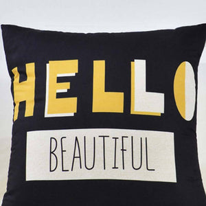 Cushion Cover Pillow Colorful Throw Pillowcase